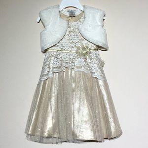 Jona Michelle Lace Tulle Formal Dress